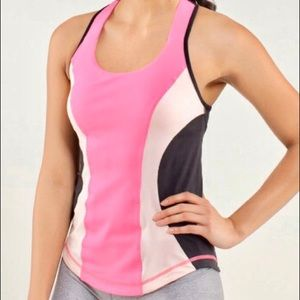 4/$25🛍 Lululemon • Pink Racerback Workout Top